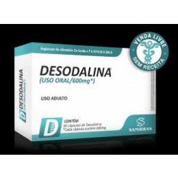 DESODALINA 600MG - 60 CÁPSULAS - SANIBRAS