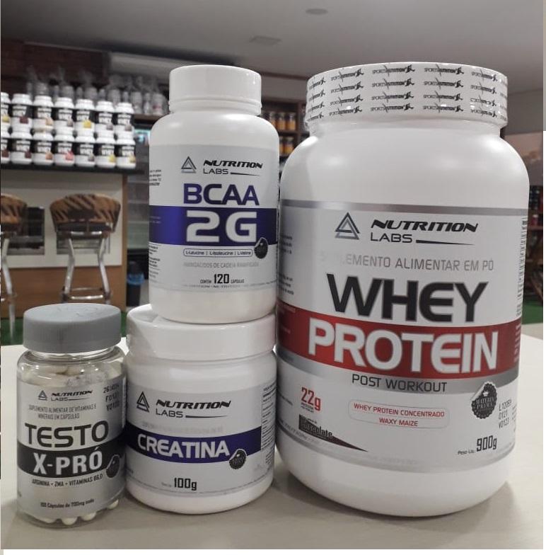 Kit Combo Definição Muscular - Nutrition Labs